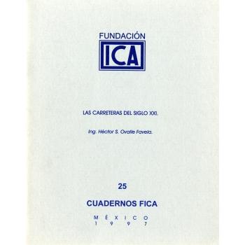 Cuadernos FICA 25 - Las carreteras del siglo XXI