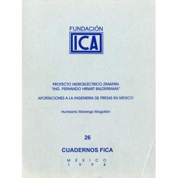 Cuadernos FICA 26 - Proyecto Hidroeléctrico Zimapán